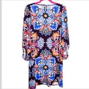 Anthropologie Uncle Frank Floral Boho Dress Sz S